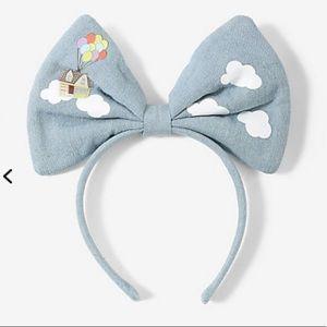LOUNGEFLY DIsney/Pixar Up bow headband!